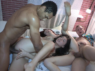 Sex party with a photo session