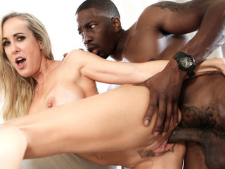 The smoking hot and horny Brandi Love is fucked good by BBC!